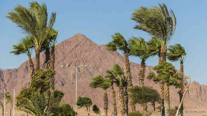 Wind gusts could reach 40 mph on Monday; Wind Advisory issued