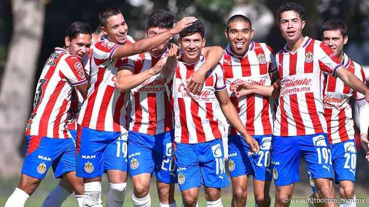 Chivas goleó a Cruz Azul y avanzó a la final de la Sub-20