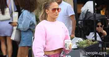 J.Lo Loves This Sweatshirt So Much, She Has It in 3 Colors — and It's Less Than $50 Now - PEOPLE.com
