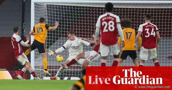 Arsenal 1-2 Wolves: Premier League – as it happened