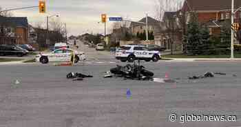 Motorcyclist dead after crash involving bus in Mississauga: police