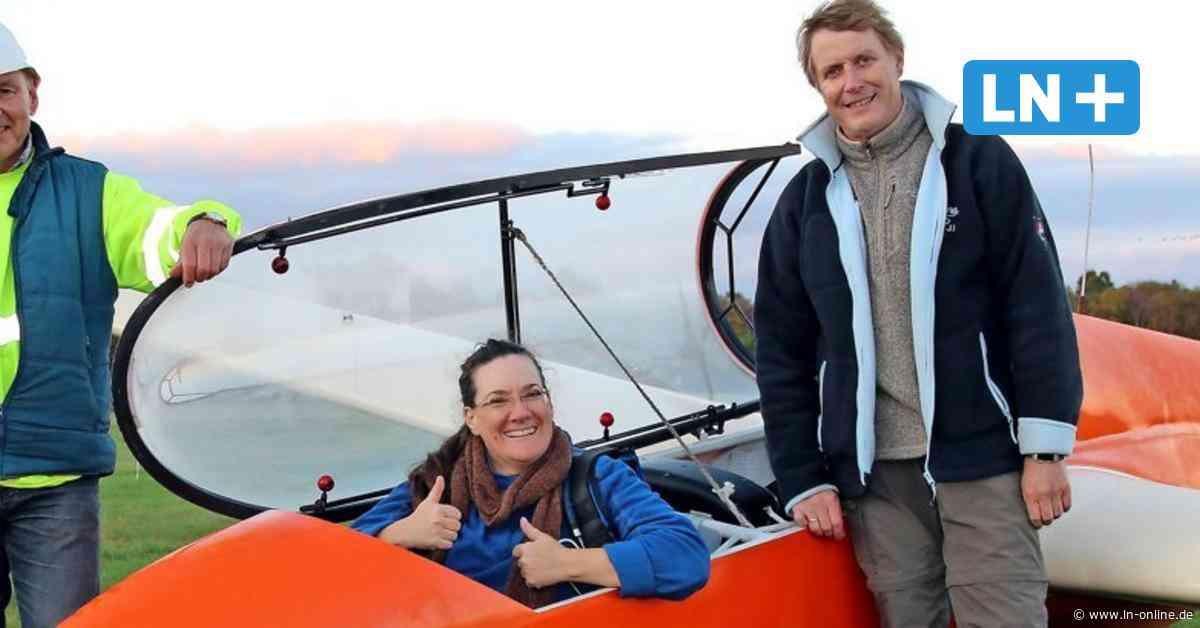 Segelflieger in Wahlstedt freuen sich über erfolgreiche Saison - Lübecker Nachrichten