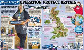 How you made Britain proud: More than 40million items of vital PPE and £11.7m donated