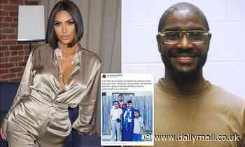 Kim Kardashian petitions to stop death penalty for man convicted of killing two ministers in 1999