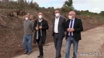 Marsala, visita al Parco Archeologico del sindaco Grillo e dell'assessore Galfano - Tp24