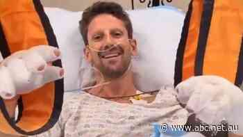 'Without it I wouldn't be able to speak to you': F1's Romain Grosjean praises 'halo' that saved his life
