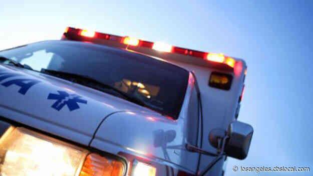 7 Hurt In Chain-Reaction Crash Near 101 Freeway In Calabasas