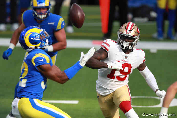 Live updates: Rams' 4th turnover a pick-six interception; 49ers lead 14-3