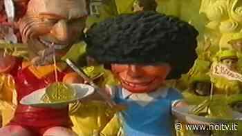 L'omaggio del Carnevale di Viareggio al Pibe de oro - NoiTV - La vostra televisione
