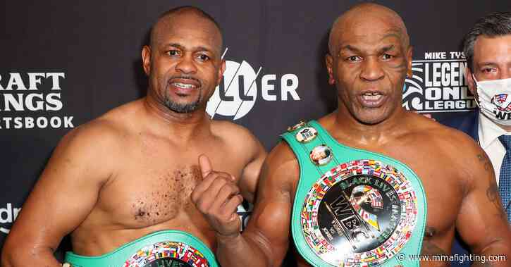 Roy Jones Jr. praises Mike Tyson, discusses fighting again: 'Thank God boxing ain't drugs, 'cause I'd never say no'