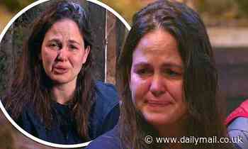 I'm A Celeb: Giovanna Fletcher breaks down in tears as she misses out on receiving gift from home
