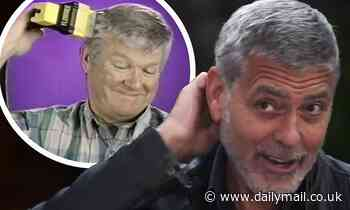 George Clooney admits he's been cutting his hair with a Flowbee for YEARS