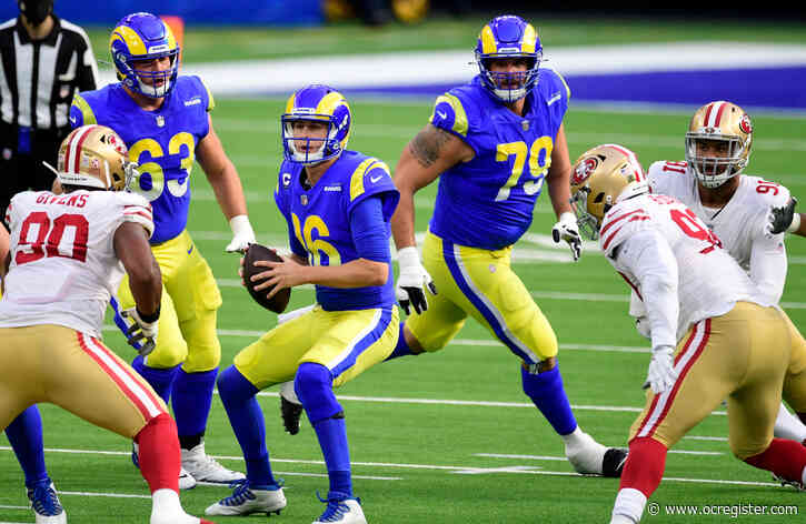 Live updates: Goff turnovers costly as Rams trail 49ers 17-3