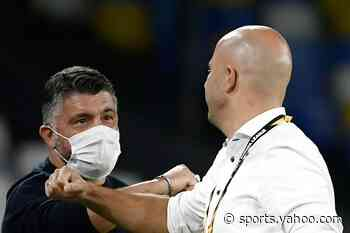 'Maradona a legend, but wear your masks,' Napoli coach tells mourning fans