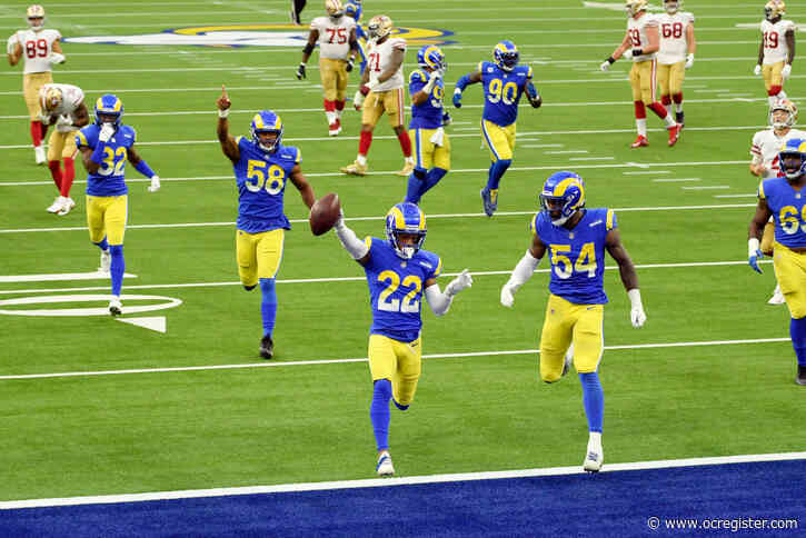 Live updates: Rams and 49ers tied 20-20 in the final minutes