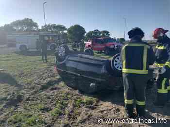 Ruta 11: volcó un auto en Aguas Verdes y hay un menor de Santa Teresita en grave estado - Entrelíneas.info