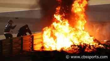F1 driver Romain Grosjean posts update after fiery crash at Bahrain GP
