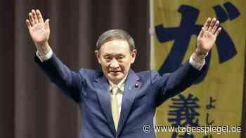Nachfolger von Shinzo Abe : Japans Parlament wählt Suga zum neuen Regierungschef - Tagesspiegel