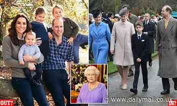 Prince William and Kate Middleton 'may miss invitation to the Queen's Christmas dinner table'