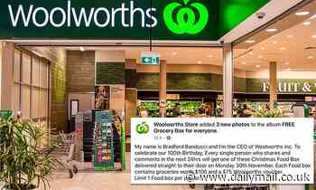 Fake Woolworths Facebook post scam lures in 50,000 unwitting shoppers