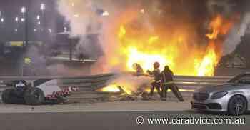 Formula One's Romain Grosjean escapes fiery accident during Bahrain Grand Prix