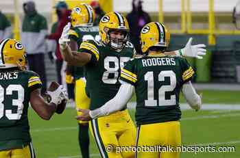 Aaron Rodgers eclipses 50,000 career passing yards