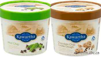 Kawartha Dairy recalls ice cream for possible metal presence