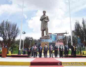 Cerro de Pasco celebró aniversario con paseo de banderas y una ceremonia sin público - Agencia Andina