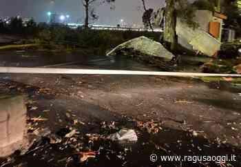 Maltempo nel catanese: tromba d'aria nei pressi dell'aeroporto - RagusaOggi