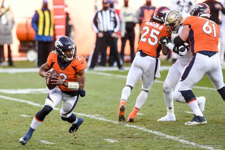 """Quarterback-less Broncos no match for New Orleans: """"We weren't given a chance"""""""