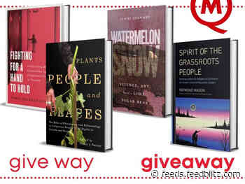 CONTEST: Win a Set of Books to Feed Your Brain (in Presents)