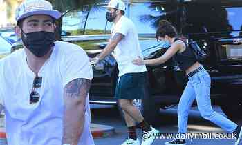 Jesse Metcalfe steps out with new ladylove Corin Jamie-Lee Clark for grocery run in West Hollywood