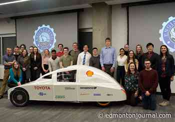 EcoCar team from University of Alberta hoping to win virtual global competition