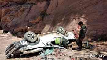 Una camioneta se embarranca en la ruta Villamontes-Tarija y deja dos muertos - eju.tv