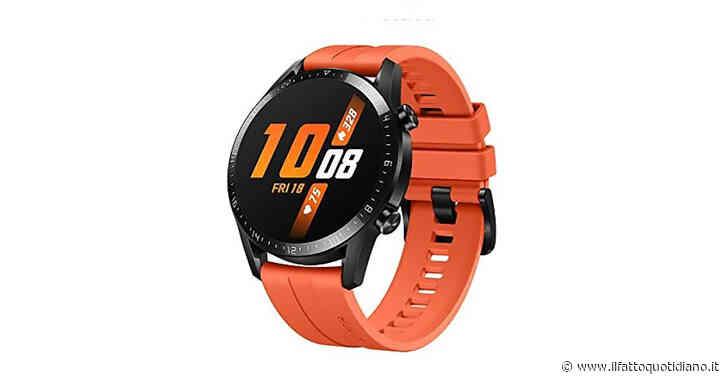 Huawei Watch GT2, smartwatch dall'autonomia elevata, in offerta su Amazon con sconto del 43%