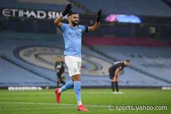 African players in Europe: Mahrez ends five-year wait for hat-trick