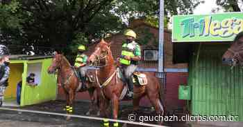 Após denúncias, Brigada Militar monitora boca de urna em Canoas - GZH