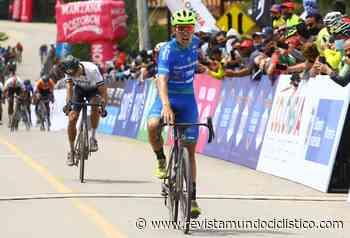 Bernardo Suaza se llevó una soberbia victoria en la primera etapa de la Vuelta a Colombia y es líder - Revista Mundo Ciclistico