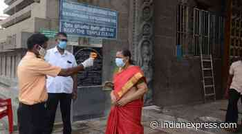 Chennai, Hyderabad Coronavirus Live Updates: 1,410 fresh cases recorded in TN, Lockdown extended till Dec 31 - The Indian Express