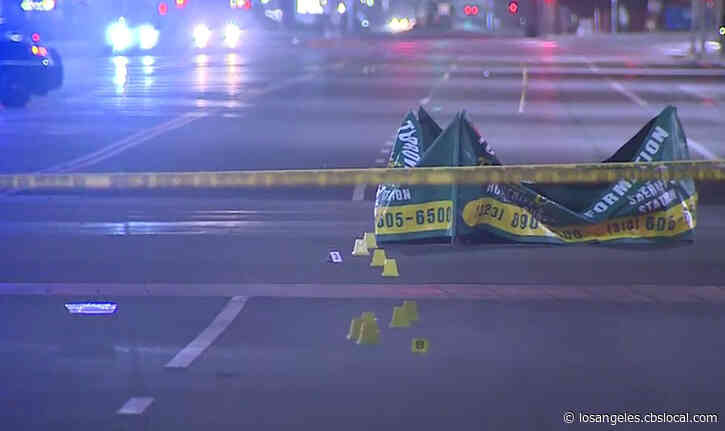 LA County Sheriff: Would-Be Carjacker Found Dead In Compton After Being Shot, Struck In Hit-And-Run