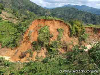 Deslizamiento de tierra en la vía Belén de Umbría-Apía - El Diario de Otún