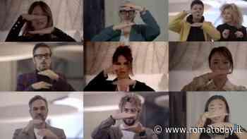 """Vip riuniti contro l'AIDS: girata a Roma la campagna video """"contro il pregiudizio"""""""