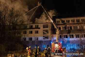 """Brandstiftung im ehemaligen Hotel """"Glück Auf"""" bei Falkenstein - Freie Presse"""