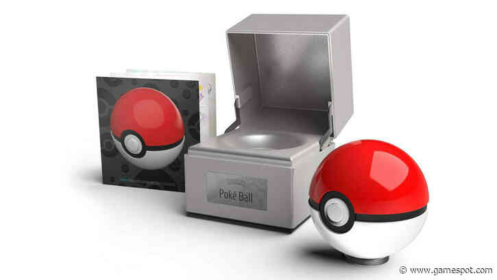 This $100 Poke Ball Replica Definitely Shouldn't Be Thrown At Your Pets