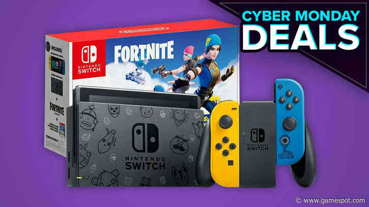 Nintendo Switch Fortnite Bundle Is In Stock Now For Cyber Monday