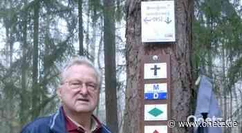 Wegewart Ewald Großmann aus Schnaittenbach hört nach über 20 Jahren auf - Onetz.de