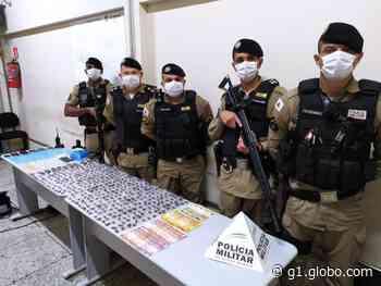 Suspeitos de tráfico de drogas são detidos em Pedro Leopoldo, na Região Metropolitana de BH - G1
