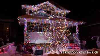Warman man lights up the night with Christmas cheer - CTV News Saskatoon