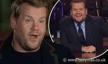 James Corden reveals he developed 'fake confidence' after being bullied at school over his weight