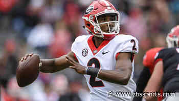 Georgia QB D'Wan Mathis enters transfer portal after starting 2020 season under center for Bulldogs